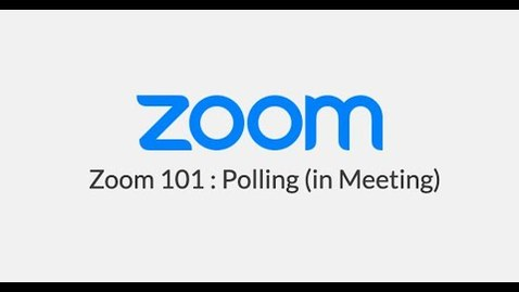 Thumbnail for entry Zoom Polling (In Meeting)