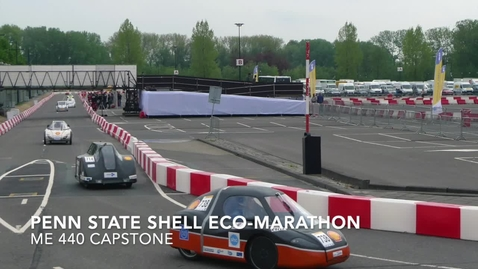 Thumbnail for entry Shell Eco-marathon Competition Project