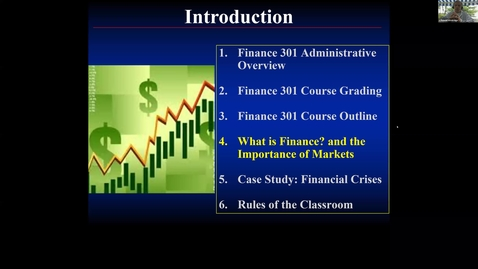 Thumbnail for entry S1 - The Importance of Financial Markets