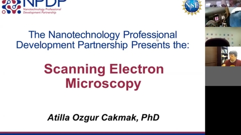 Thumbnail for entry Scanning Electron Microscopy