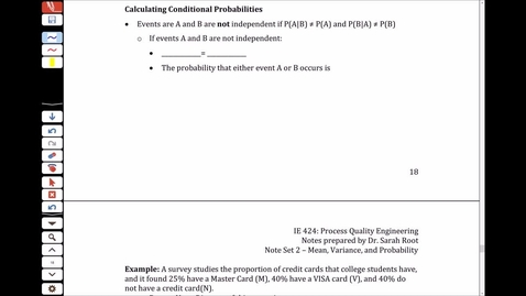 Thumbnail for entry NS2 - 2.8 - Conditional Probability