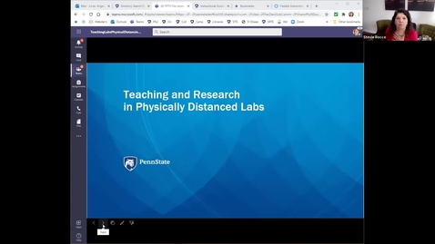 Thumbnail for entry Teaching and Research in Physically Distanced Labs: Keep Teaching Webinar Series