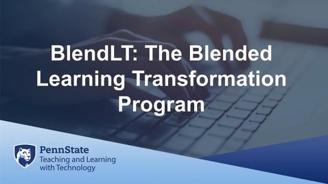 Thumbnail for entry BlendLT AD