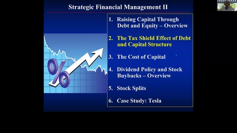 Thumbnail for entry S10 - The Tax Shield Effect of Debt and the Capital Structure I.mp4
