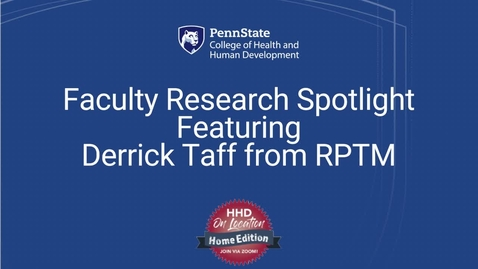 Thumbnail for entry Faculty Research Spotlight: Protecting National Parks by Managing Visitor Impact