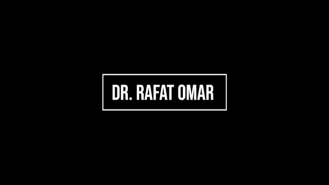 Thumbnail for entry Dr. Omar Introduction
