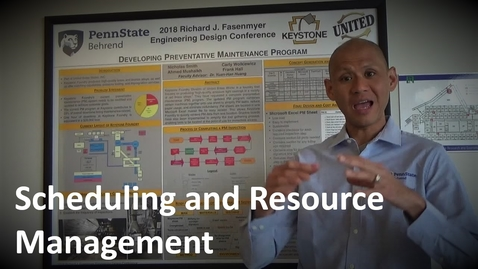 Thumbnail for entry MANGT 510  Scheduling and Resource Management