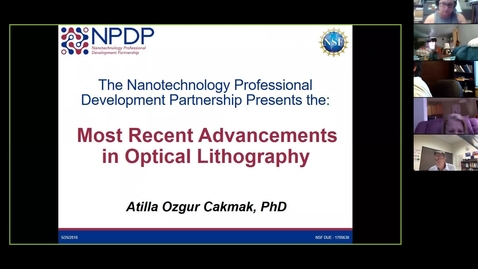Thumbnail for entry Recent Advancements in Optical Lithography