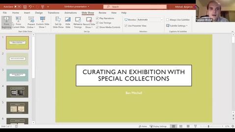 Thumbnail for entry Ben Mitchell - Student Employee Showcase Presentation