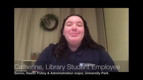 Thumbnail for entry University Libraries Subject Expert