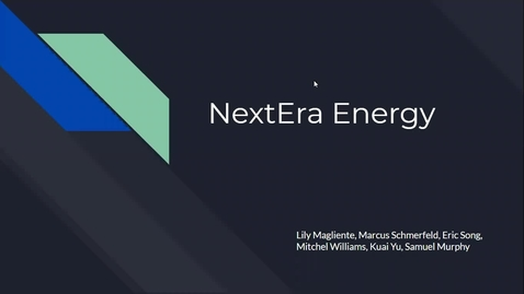Thumbnail for entry Nextera Energy Peter Chiulli