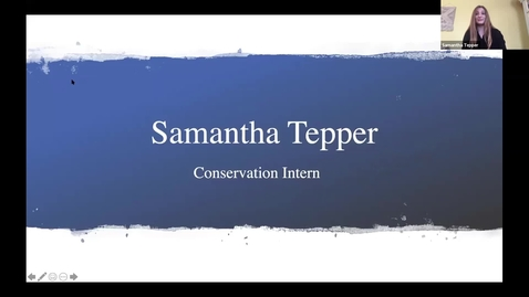 Thumbnail for entry Samantha Tepper - Student Employee Showcase Presentation
