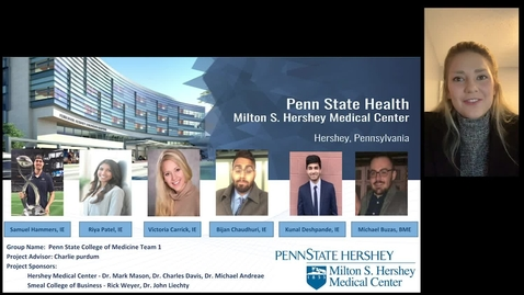 Thumbnail for entry Hershey College of Medicine- Team 1