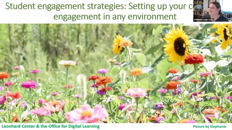 Thumbnail for entry LC Student Engagement Strategies