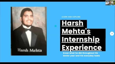 Thumbnail for entry Harsh Mehta -- Student Employee Showcase 2021