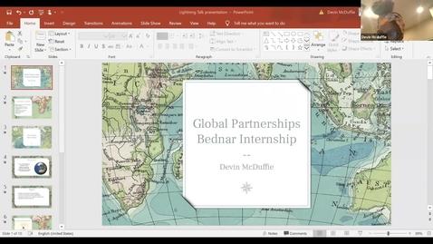 Thumbnail for entry Devin McDuffie - Student Employee Showcase Presentation
