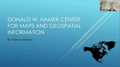 Thumbnail for entry Thomas Whalon - Student Employee Showcase Presentation