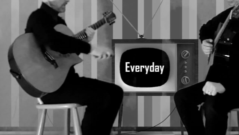 """Thumbnail for entry Ballet Crisis featuring Jeff Edmunds -- """"Everyday"""" (Official)"""