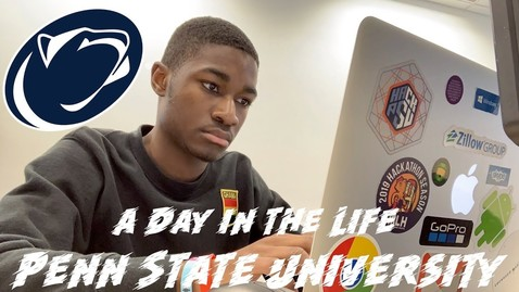 Thumbnail for entry A Day in the Life at Penn State University
