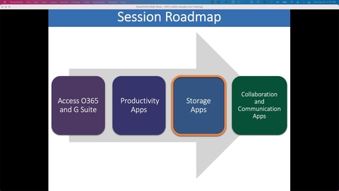 Thumbnail for entry Storage Applications- Working Collaboratively with Office 365 and Google Workspace at Penn State