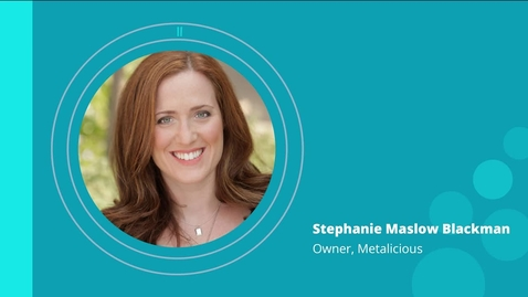 Thumbnail for entry  Stephanie Maslow Blackman: Insights on Pricing