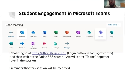 Thumbnail for entry Student Engagement in Microsoft Teams