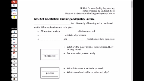 NS1 - 1.1 Statistical Thinking Overview