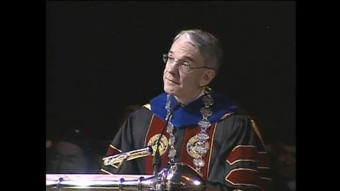 Thumbnail for entry 2006 Convocation Address with Chancellor Coombe with early life story