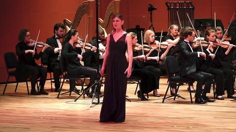 """Thumbnail for entry Donizetti: """"Quoi, vous m'aimez?"""" from La fille du régiment"""