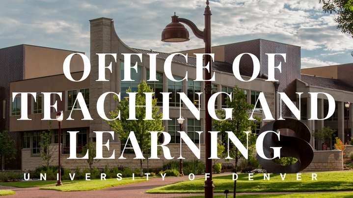 Thumbnail for channel Office of Teaching of Learning