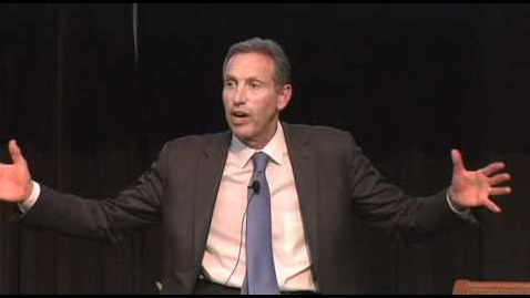 Thumbnail for entry TEDxDU: Howard Schultz, CEO of Starbucks, Speaks at Voices of Experience