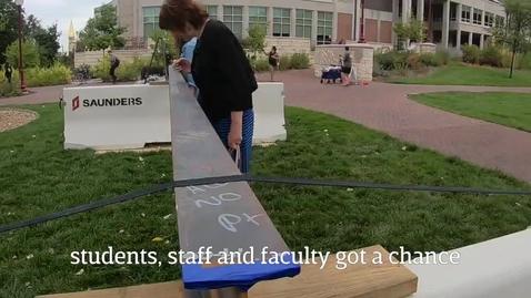 Thumbnail for entry The Dimond Family Residential Village Tops Off - University of Denver (2019)