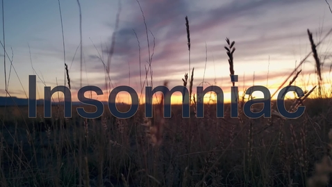 """Thumbnail for entry """"Insomniac"""" by Dominique Holiday"""