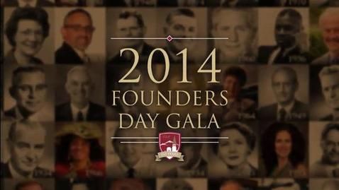 Thumbnail for entry 2014 Founders Day Opening Video