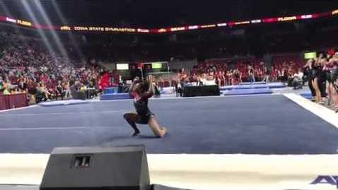 Thumbnail for entry 2019 DU Gymnastics at Iowa State - Lynnzee Brown - Floor (9.975)