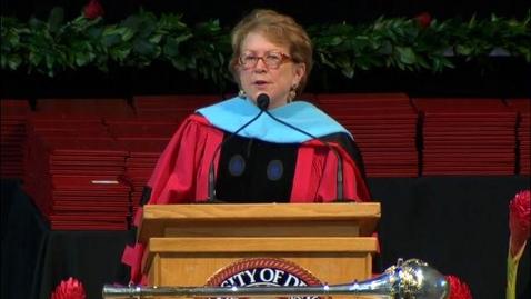 Thumbnail for entry 2015 Graduate Commencement