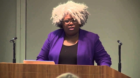 """Thumbnail for entry 2015 Kirk Lecture """"Ignorance is Not Bliss"""" w/ Dr. Anthea Butler"""