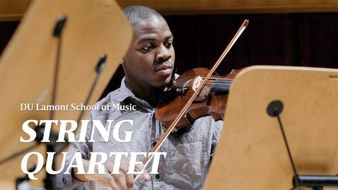 Thumbnail for entry Honoring Martin Luther King Jr. Through Music | University of Denver (2020)