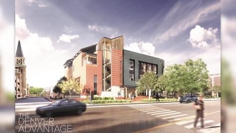 Thumbnail for entry Burwell Center for Career Achievement Breaks Ground - University of Denver (2019)