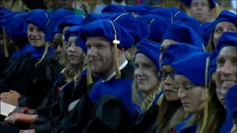 Thumbnail for entry 2016 Graduate Commencement