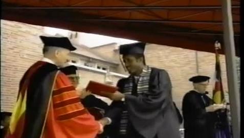 Thumbnail for entry DU Commencement June 1995