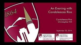Thumbnail for entry An Evening with Condoleezza Rice - The Korbel Dinner 50th Anniversary Celebration