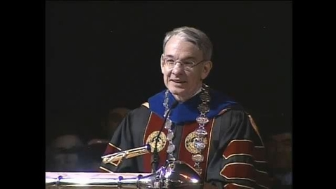 Thumbnail for entry 2006 Convocation Address with Chancellor Coombe