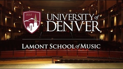 Thumbnail for entry The Lamont School of Music: A Premier Music Performance School
