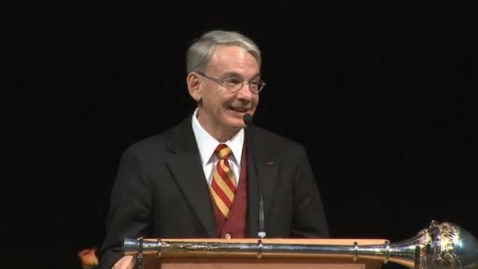 Thumbnail for entry 2010 Convocation Address with Chancellor Coombe