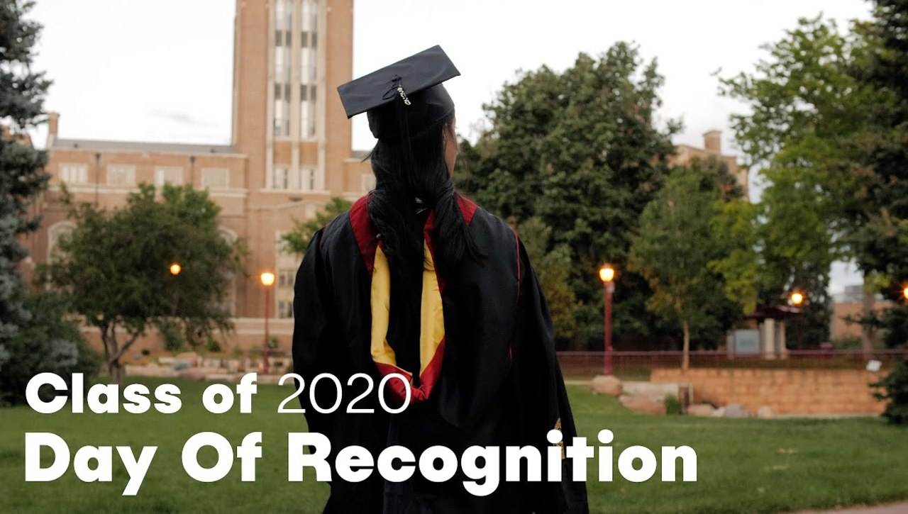 Virtual Commencement: A Day of Recognition #ClassOf2020