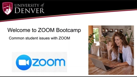 Thumbnail for entry ZOOM Bootcamp for Students