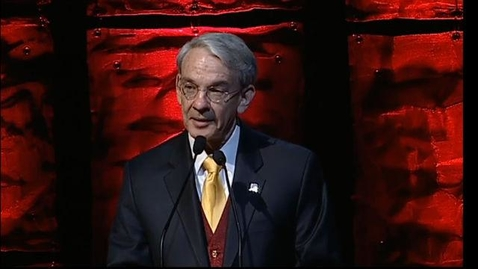 Thumbnail for entry 2014 Founders Day Gala, Chancellor Robert Coombe