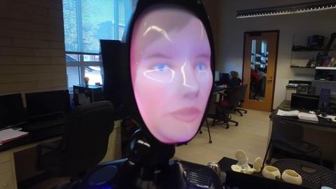 Thumbnail for entry Companion Robot for Alzheimer's Patients | University of Denver (2017)