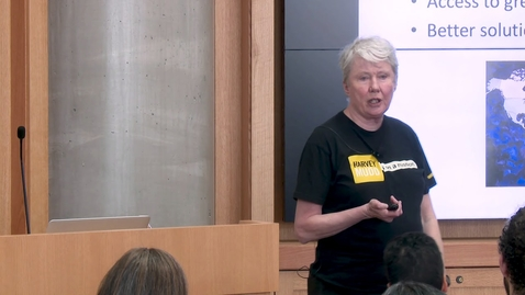 Thumbnail for entry Distinguished Lecture Series: Increasing the Number of Females in Tech Careers with Dr. Maria Klawe
